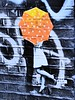 Hidden kisses (Belinda Fewings (3 million views. Thank You)) Tags: intimacy interesting arty artistic creative creativeartphotography umbrella blackandwhiteandcolour hiddenkisses panasoniclumixdmc belindafewings e1 bricklane london streetart street