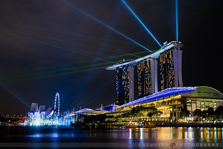 SINGAPORE/lights and colors show