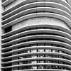 DSC_1689 (deborahb0cch1) Tags: monochrome blackandwhite noiretblanc geometric architecture glassandsteel skyscraper window windows symmetry lines parallellines balconies facade