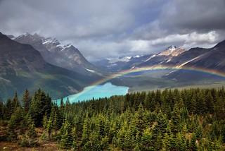 I've Seen Rainbows... (Banff National Park)