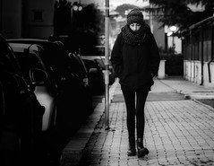 It's really cold outside (Gaia Rampon) Tags: blackandwhite bnw street streetpotography noir candid noiretblanc