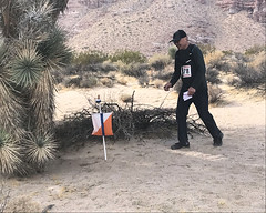 040 Finding The Joshua Tree Grove Control (saschmitz_earthlink_net) Tags: 2017 california orienteering redrockcanyon statepark laoc losangelesorienteeringclub mojavedesert desert kerncounty elpasorange