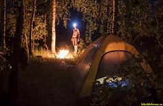 Совсем стемнело, достали фонарики.. Тепло, уютно, светло вокруг и на душе!