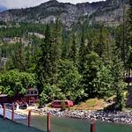 Pulling into the Dock at Stehekin (Lake Chelan National Recreation Area) thumbnail