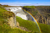 Land of Ice (Matt Champlin) Tags: snow snowy cold arctic iceland gullfoss canon 2016 travel gorge glen rainbow waterfall amazing exotic hiking winter snap