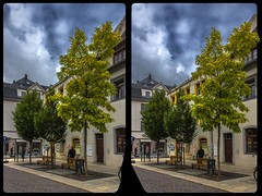 Freiberg, Burgstraße 3-D / CrossView / Stereoscopy / HDR / Raw (Stereotron) Tags: saxony sachsen freiberg university mining europe germany streetphotography urban citylife architecture crosseye crosseyed crossview xview cross eye pair freeview sidebyside sbs kreuzblick 3d 3dphoto 3dstereo 3rddimension spatial stereo stereo3d stereophoto stereophotography stereoscopic stereoscopy stereotron threedimensional stereoview stereophotomaker stereophotograph 3dpicture 3dglasses 3dimage hyperstereo twin canon eos 550d yongnuo radio transmitter remote control synchron kitlens 1855mm tonemapping hdr hdri raw