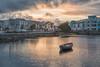 Sunset in Galway (Hattifnattar) Tags: ireland galway sunset portofgalwayseascouts pentax dfa2470mm cityscape