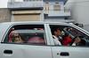 FAMILY + CAR, Jaipur / India 2016 (monoauge) Tags: d7000 dslr nikon nikond7000 familyinsidecar familycar car family people jaipur street streetshot streetphotography city urban road unposed india indien rajasthan indiantraffic traffic
