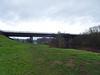 A55 bridge over the Dee, 2017 Dec 21 (Dunnock_D) Tags: uk unitedkingdom britain england green grass grey cloud cloudy sky field trees a55 bridge roadbridge marchesway