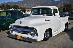 HCCA 62nd Holiday Motor Excursion (USautos98) Tags: 1955 ford f100 pickuptruck hotrod streetrod custom