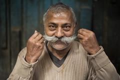 Veeru Yadav | Varanasi 2017 (Ravikanth K) Tags: 500px portrait varanasi kasi india sweet shop owner moustache posing outdoor smile bigmoustache big oneperson oldman adult proud humble polite cwc chennaiweekendclickers cwc623