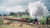 645 60800 Appleby 20 Feb 1999_Keith Sanders (Railcam) Tags: ukrailways appleby 60800 greenarrow steam heavysky cumbrian mountain express