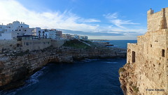 Polignano a Mare (Frank Abbate) Tags: sea landscape italy polignano canon bari puglia rocks scogli mare adriatico adriatic apulia south sud