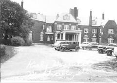 Kirby Hospital, Allen F. Moore Mansion, 1111 N. State, 02 Monticello, IL c1945 (RLWisegarver) Tags: piatt county history monticello illinois usa il