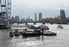 London's Firework Barges! (RiverCrouchWalker) Tags: londonsfireworkbarges riverthames london newyearseve housesofparliament londoneye boats brages fireworks buildings skyline westminsterbridge newyear