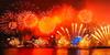 Victoria Harbor fireworks 2018 (kcma17) Tags: 模糊 夜景 城市 公園 天空 建築物 人