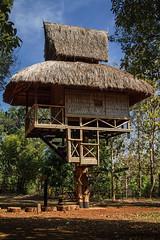 Traditional house, Laos (pas le matin) Tags: house asia asie maison travel voyage southeastasia world lao laos pakxé architecture hut canon 7d canon7d canoneos7d eos7d