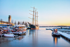 The Caledonia (A Great Capture) Tags: agreatcapture agc wwwagreatcapturecom adjm ash2276 ashleylduffus ald mobilejay jamesmitchell toronto on ontario canada canadian photographer northamerica torontoexplore winter l'hiver 2017 caledonia ship tall harbourfront ice winterscene dock docks