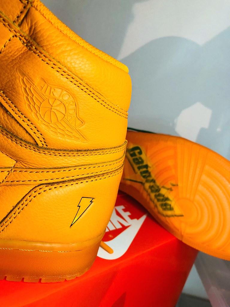 ada4eefd20d38c Nike Air Jordan 1 retro og Gatorade - Release 2017 (Alobooom) Tags  swoosh