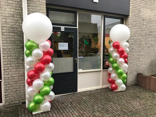 Ballonpilaar Breed Rond ItalGusto Spijkenisse