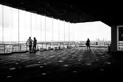 (fernando_gm) Tags: monochrome monocromo monocromatico blackandwhite bw blancoynegro gente geometry geometría mujer museum museo men man people person persona belgium belgica antwerp anvers amberes fujifilm fuji 1024mm
