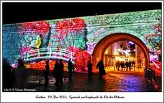 Antibes, 20 décembre 2014, spectacle de lumière sur l'Esplanade des Pré des Pêcheurs 06 (Michael J. Woerner) Tags: antibes côted´azur spectacledelumière spectacle lesplanadedesprédespêcheurs esplanade lightshow light