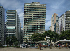 The leaning towers of Santos