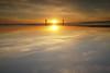 P1100451/Today at the beach (stusea) Tags: lahinch ireland stusea beach sea atlantic reflection