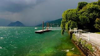 Arrivée à Verbania : Lac Maggiore , Italie du Nord