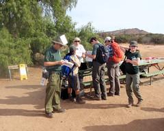 045 Arriving At The Download Station (saschmitz_earthlink_net) Tags: 2018 california orienteering vasquezrocks aguadulce losangelescounty laoc losangelesorienteeringclub