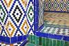 HSV in Marrakech (imke.sta) Tags: zellij zellijtilework zellijtiles tiles morrocanart mnebhipalace muséedemarrakech marrakech marrakesh marokko morocco maroc