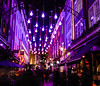 Christmas lights in Carnaby Street, London