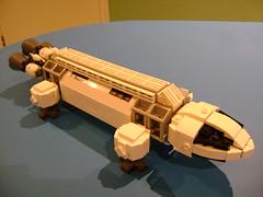 WIP Prototype custom Lego Space 1999 Eagle spaceship (tekmoc17) Tags: lego custom moc eagle space 1999 tv show brick spaceship moonbase alpha