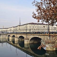 Autunno in Torino (maresaDOs) Tags: torino piemonte italy riflessi fiume pò autumn ponte bridge novembre