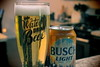 Busch, Beer. (EOS) (Mega-Magpie) Tags: canon eos 60d indoor drink food beer busch light glass can save water kitchen