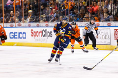 "Kansas City Mavericks vs. Colorado Eagles, December 16, 2017, Silverstein Eye Centers Arena, Independence, Missouri.  Photo: © John Howe / Howe Creative Photography, all rights reserved 2017. • <a style=""font-size:0.8em;"" href=""http://www.flickr.com/photos/134016632@N02/24278164047/"" target=""_blank"">View on Flickr</a>"