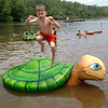 Think Outside Photo Contest Fairy Stone State Park (vastateparksstaff) Tags: lake water jumping boy swimming summer fun leap turtle beach turtlepond gooduseimage