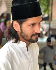 The Gentle Cascades of a Sufi Dude's Hairdo (Mayank Austen Soofi) Tags: the gentle cascades sufi dude's hairdo ajmer