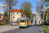 Düwag-Traum im Osten (trainspotter64) Tags: strasenbahn tramway tram tranvia streetcar düwag gt6 schöneiche rüdersdorf srs brandenburg kirche