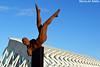 Paseo del Arte at  City of Arts and Sciences (Nicolay Abril) Tags: paseodelarte lumbracle estatua statue estatuas escultura sculpture ciudaddelasartesylasciencias ciutatdelesartsilesciències citédesartsetdessciences cityofartsandsciences santiagocalatrava calatrava félixcandela museudelesciènciespríncipefelipe museodelascienciaspríncipefelipe museodelasciencias museudelesciències rogériotimóteo caminosparalelos valencia valència valence comunitatvalenciana valencianischegemeinschaft comunidadvalenciana communautévalencienne paísvalencià españa spain espagne spagna spanien espanha cielo ciel sky himmel cel cieloblu cieloazul cielbleu bluesky skyporn cielblau perspectiva perspective sciencemuseum arquitectura architecture modernarchitecture arquitecturamoderna icarusii icarus icaro icarussculpture expressionism expresionismo expressionismo esculturadoexpressionismo esculturaexpresionista expressionismsculpture modernsculpture puntodefuga vanishingpoint umbracle