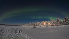 northern lights 2712.2017 (Hotel Korpikartano) Tags: korpikartanofi laplandfinland lapland lappi revontulet auroraborealis menesjarvi northernlights