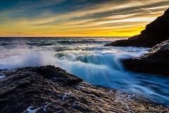 The sea (Juan Galián) Tags: canon60d costa coast landscape litoral water spain sea sunset agua atardecer murcia mar mediterráneo marina paisaje playa puestadesol tokina