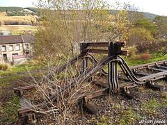 End of the line (cerij4242) Tags: railways disusedabandonedrailwaystracksbriton treherbert tracks railway t