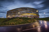 Derby Arena (Steve Millward) Tags: nikon nikkor d750 1635 ultrawide fx fullframe leefilters lee09hardndgrad manfrotto stevemillward perspective composition interesting colour light texture tone mood moment winter sky cloud landscape scenic beautiful drama dramatic outdoor outside england cold reflection reflections longexposure derby derbyarena velodome wet pridepark building architecture morning newyearseve