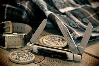 Stockman, Pocket Knife. 2 (EOS)