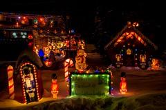 DSC_0669 (Copy) (pandjt) Tags: ottawa orlèans on ontario christmas christmaslights christmasseason christmasspirit lights lighting nightphotography night ledlights ledlighting house colours colors decorations winterscenic winter winterphotography larkshavencrescent snow