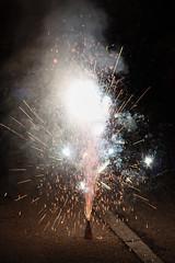 volcano (kathrin_mezger) Tags: firework fireworks feuerwerk silvester newyearseve night vulkan volcano funken sparkle rauch