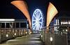 Pero's Bridge (andrewmclean32) Tags: bridge bristol harbourside night longexposure harbour nikon lights cityscape ferriswheel