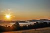 Sunrise 6/365 (stefan.pavic1) Tags: dimitrovgrad serbia morning hill hills trees cloud clouds photo photography flickr saturday saturdaymorning haze fog nature mountains flickrphoto nikon d80