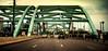 Welcome to Denver (Sky Noir) Tags: denver co colorado arch bridge travel speer blvd south platte river